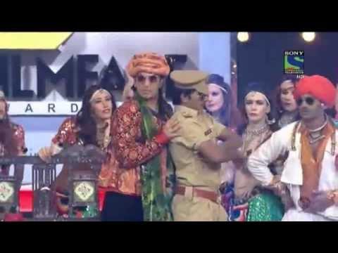 Ranveer Singh- Bhai Bhai Song in Filmfare Awards 2014
