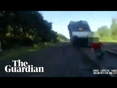 Randy Rose - Cop Save Man From Being Hit By Train