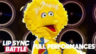 "Big Bird Performs ""Feeling Good"" by Michael Buble 