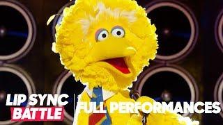 "Big Bird Performs ""Feeling Good"" by Michael Buble | Lip Sync Battle"