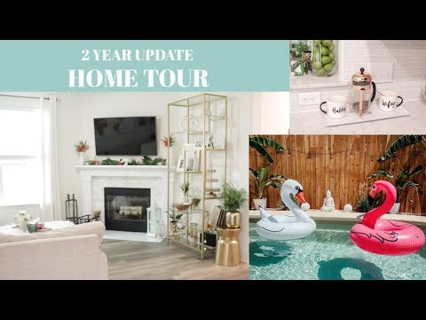 HOUSE TOUR| GLAM HOME DECOR| 2 YEAR UPDATE