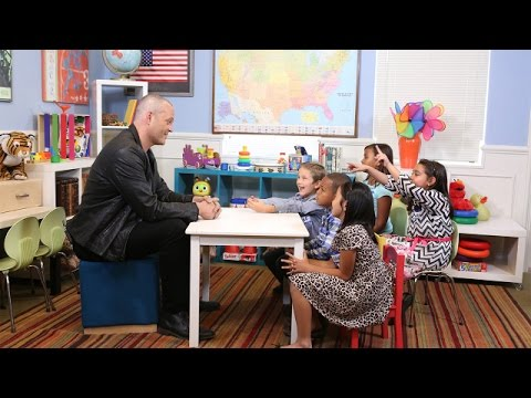 Vince Vaughn Talks to Kids