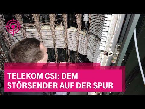 Social Media Post: Telekom CSI: Dem Störsender auf der Spur