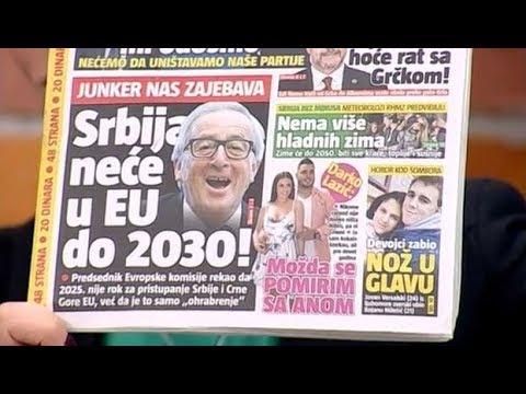 Srbija u EU do 2025. godine? - Dobro jutro Srbijo - (TV Happy 07.02.2018)