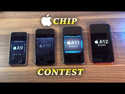 Apple A12 vs A11 vs A10 vs A9 Speed Test | Chip Contest (Ep.2)