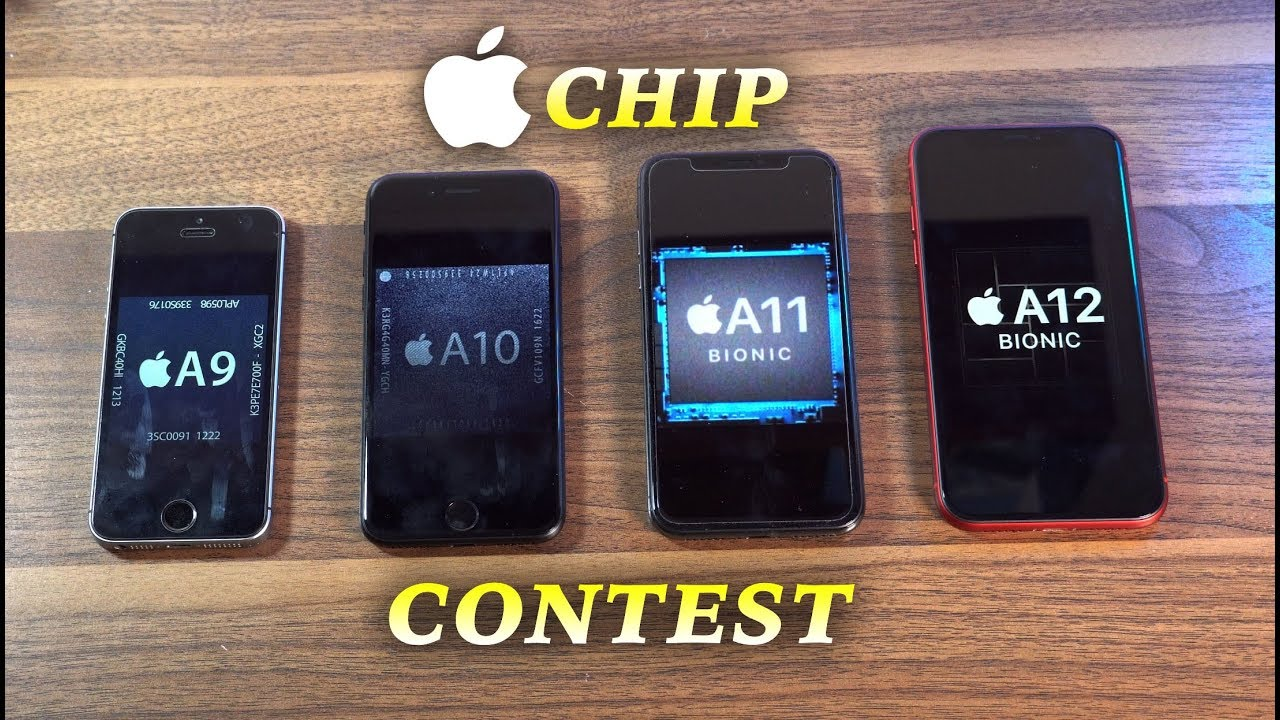 Apple A12 vs A11 vs A10 vs A9 Speed Test | Chip Contest (Ep 2)