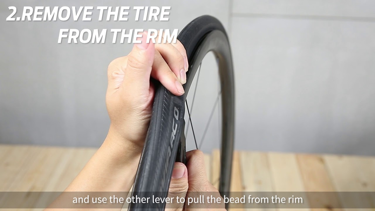How to patch a tubeless road bike tire