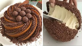 Easy Plus - So Yummy Chocolate Cake Decorating Ideas To Impress Your Family | Satisfying Chocolate Cake Videos - VIDEOOO