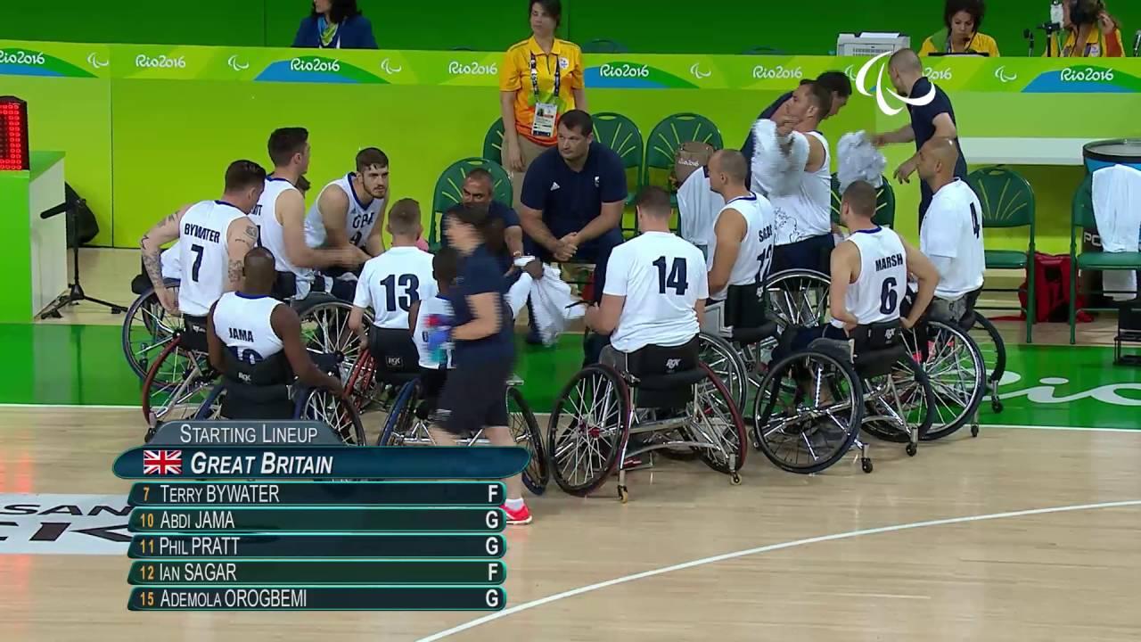 wheelchair basketball great britain vs brazil men s
