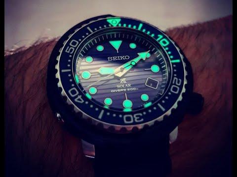 Seiko Prospex Solar 'Save The Ocean' Tuna (SNE518P1) - Watch Unboxing