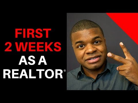 First 2 Weeks As A Realtor