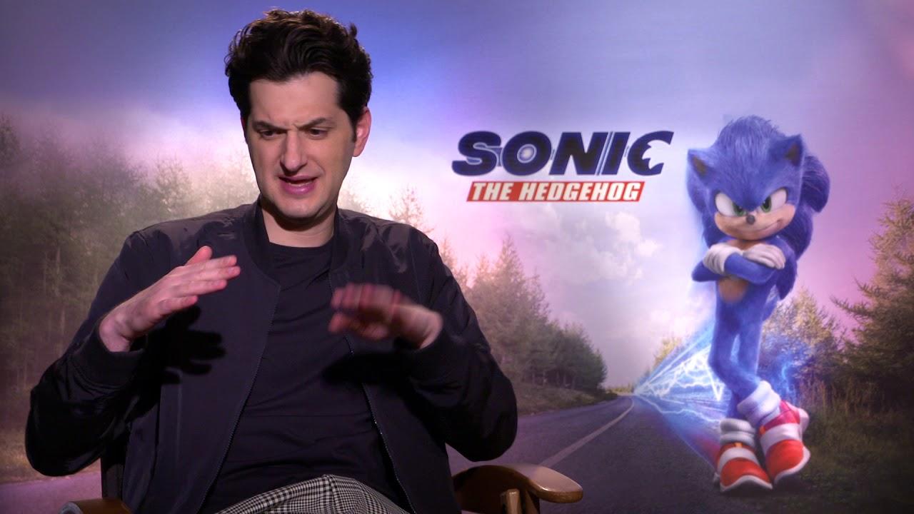 Ben Schwartz interview for SONIC THE HEDGEHOG