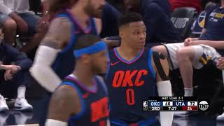 Russell Westbrook vs Utah Jazz NBA 2018 Playoffs 1st Round Full Offensive Lowlights!
