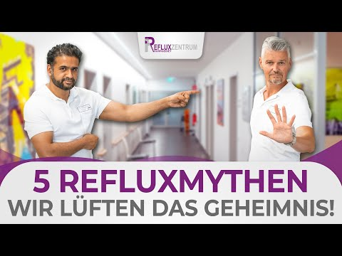5 Mythen um Reflux - Wir decken auf! Apfelessig, Milch, PPI und weitere!