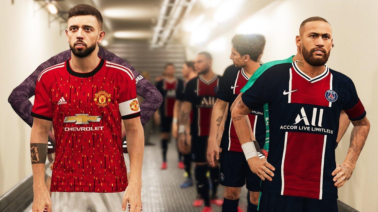 Manchester United Vs Psg New Kits 2020 21 Youtube