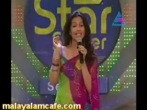 Ranjini Haridas Kisses On Idea Star Singer