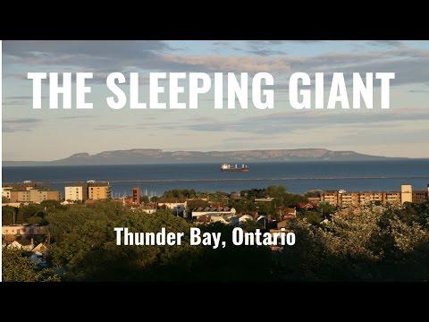 The Sleeping Giant - Thunder Bay, Ontario