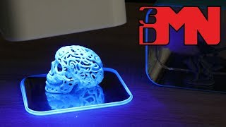 3D Printed UV Curing Chamber For Resin Prints