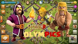 Clash Of Clans - Olympics | Barbarians vs Wizards | Dragons vs Healers | COC