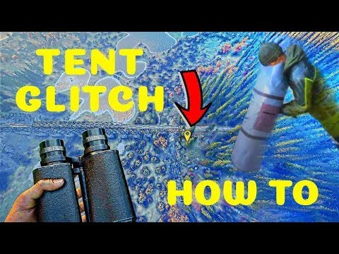 The Hunter Call Of The Wild Tent Glitch Go Flying Through The Air! ( Tent Glitch) HOW TO