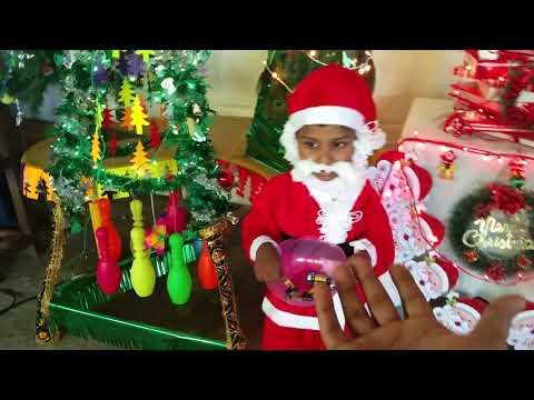 Christmas Tree Exhibition at Priyadarsini Balavihar, singer: Mutyala Tejasri, 9th class.