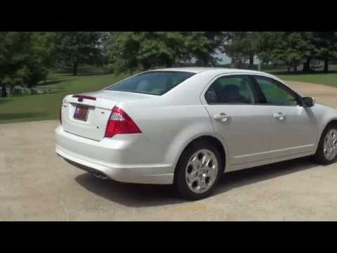 HD VIDEO 2011 FORD FUSION SE WHITE FOR SALE SEE WWW SUNSETMOTORS COM
