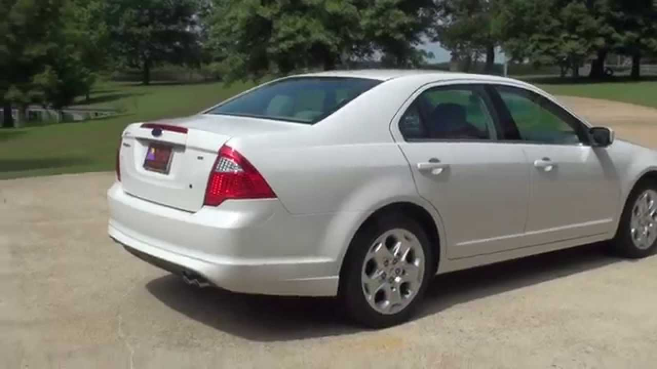 hd video 2011 ford fusion se white for sale see www sunsetmotors com youtube. Black Bedroom Furniture Sets. Home Design Ideas
