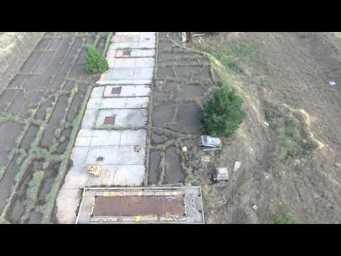 Drone's Eye View of Medical Lake's Fox Ridge Abandoned Missile Facility