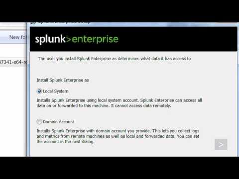 How To Install Splunk Enterprise