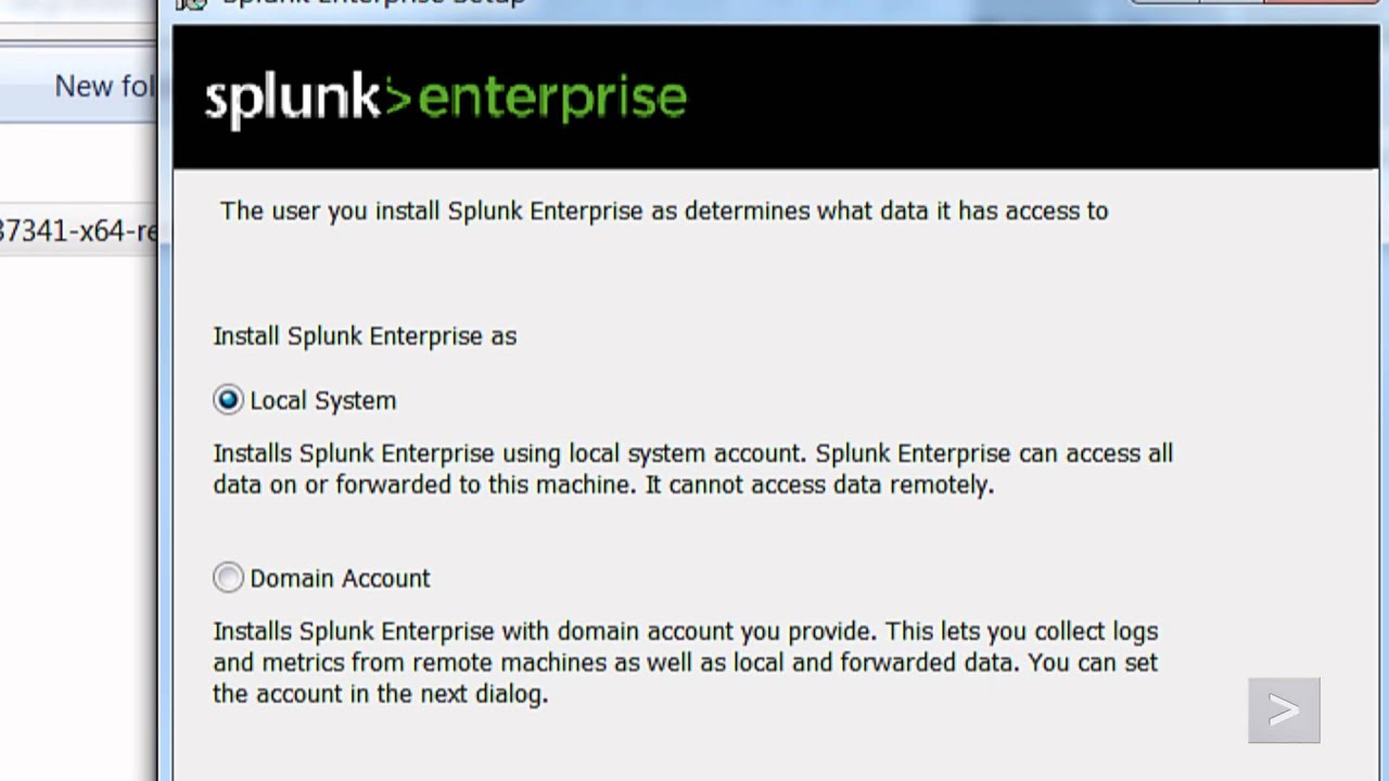 Installing Splunk Enterprise 6 2 on Windows