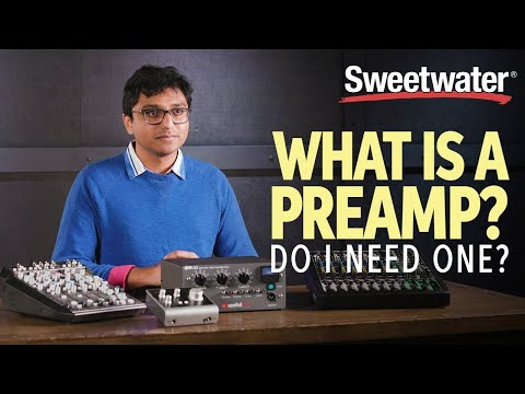 What Is A Preamp, And Do I Need One? | Studio Lesson 🎛