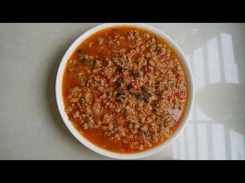 Cách làm món thịt băm sốt cà chua món ngon gia đình!
