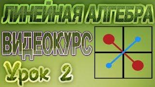 2. Вычисление определителя методом разложения по элементам его строки или столбца
