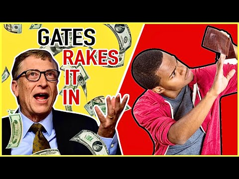 WHAT?! The Stimulus Gives YOU $600 But Bill Gates Gets BILLIONS!!