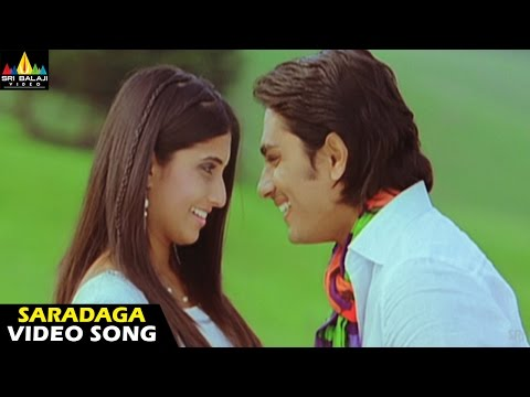 Oye Songs | Saradaga Video Song | Telugu Latest Video Songs | Siddharth | Sri Balaji Video