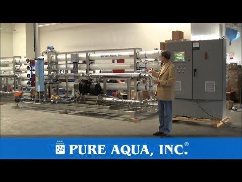 Industrial Desalination Plant & Ion Exchange System Oman 2 x 63,000 GPD | www.PureAqua.com