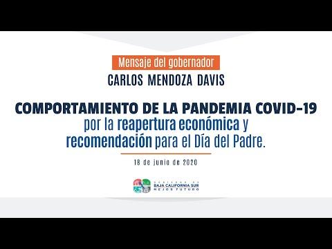 Comportamiento de la pandemia COVID-19 por la reapertura económica.