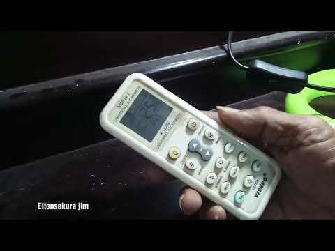 Ac tidak dingin, mungkin salah dalam mengatur pada remote ac Di sini saya jelaskan cara yang benar m.