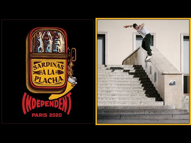 Independent Trucks in Paris - Sardinas a la plancha