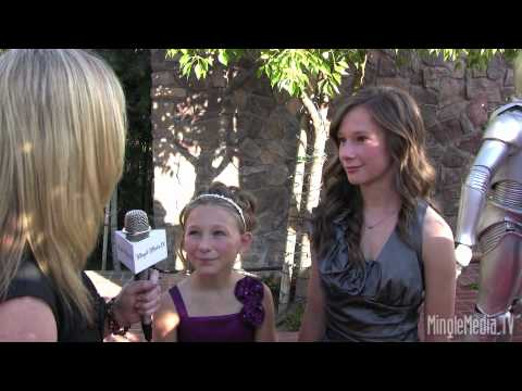 Tatum & Hailey McCann 36th Annual Saturn Awards Red Carpet Report by Mingle Media TV
