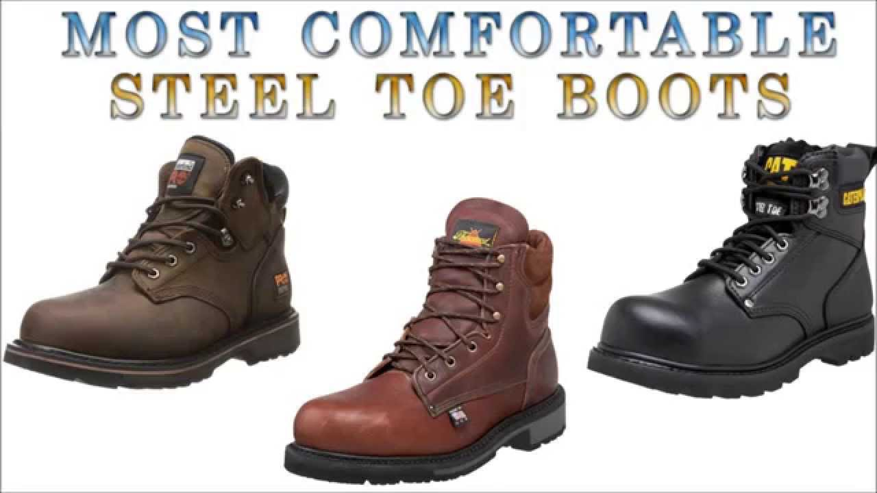 Most comfortable steel toe boots - YouTube