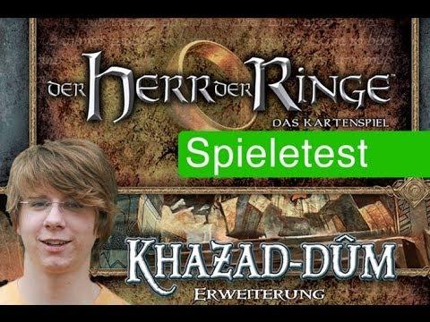 Herr Der Ringe Lcg Zwergenbinge Spiel Anleitung Rezension Spielama