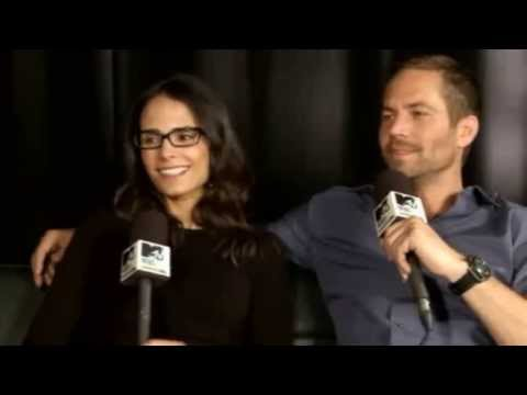 Paul Walker and Jordana Brewster Fast and Furious 6 Special