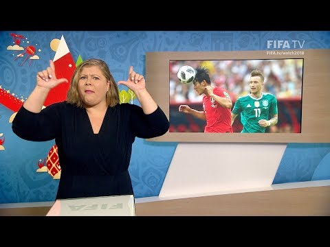 FIFA WC 2018 - KOR vs. GER – for Deaf and Hard of Hearing - International Sign