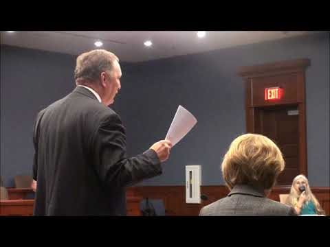 Gerald Powell's Hearing with the Carroll County Election Board Octobeer 2017