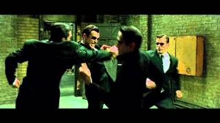 The Matrix Reloaded - The Upgrades Fight - The Full Scene