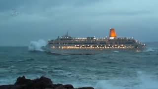 Must Watch! 2019 CRUISE SHIPS In BAD WEATHER Heavy Seas in Storm