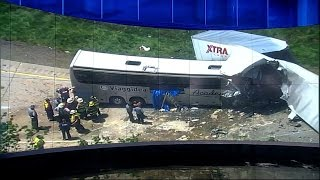 Bus Crashes on US Highways: 2 Deadly Collisions