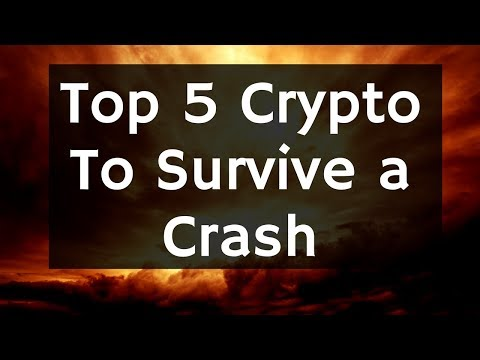 5 Crypto to Survive a Market Crash - My picks
