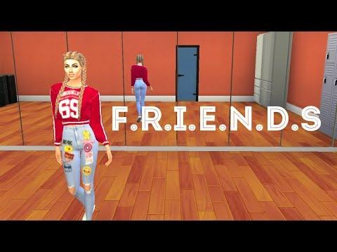 Sims 4   Marshmello & AnneMarie  FRIENDS Lyric  + DOWNLOAD